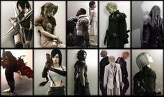 Characters from Final Fantasy VII