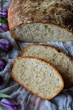 Chleb pieczony z garnku żeliwnym Kefir, Bread, Food, Brot, Essen, Baking, Meals, Breads, Buns