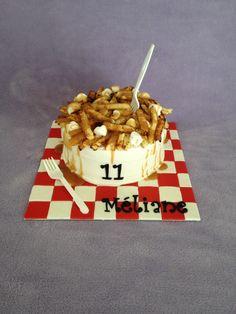 Poutine cake mmmmm!