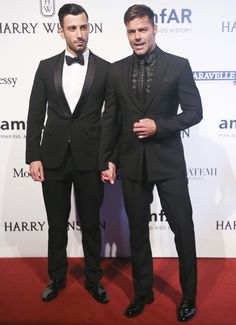 ricky-martin and boyfriend