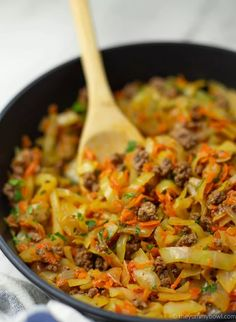 Vegan Ground Beef, Ground Beef Recipes, Ground Beef And Cabbage, Healthy Breakfast Options, Veggie Stock, Fried Cabbage, Vegan Chili, Curry Recipes, Beet Recipes