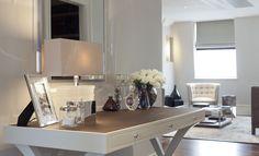 soft shimmering palette for the bedroom- David LINLEY   Interior design   Penthouse, The Lancasters Hyde Park
