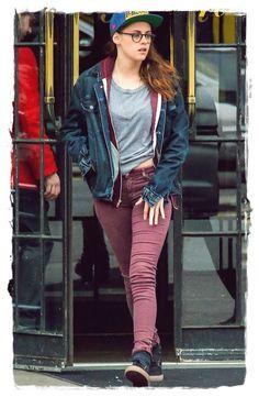 Kristen Stewart Street Style Looks 7