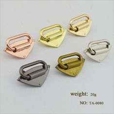 bf12deef409 (10 pieces lot) Wholesale Handbags High-grade Metal Shoulder Strap Link  Decal Decorative Button Hardware Accessories - CatalogMargo