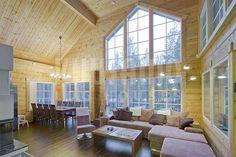 #casa #madera #sostenible Kuusamo Log Houses modelo Sirkka