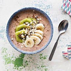 Kiivi-banaanituorepuuro   K-Ruoka #tuorepuuro #aamiainen #aamupala