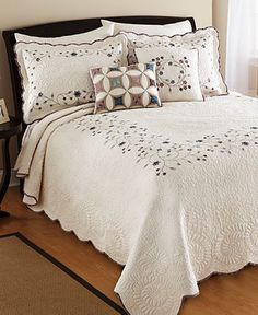 Agatha Bedspreads - Quilts & Bedspreads - Bed & Bath - Macy's