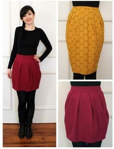 Tulip Skirt - never fully-lined a skirt before? We'll show you how. Plus leave with this super cute wardrobe staple that you've made on your very own!