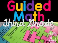 3rd Grade Guided Math -The Bundle aligned to Common Core and TEKS