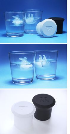 Polar ice cube makers ... Nice!