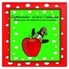 This calendar incorporates both Math and ELA.  Each day has a back to school vocabulary word in addition to a colored pattern.  Vocabulary also inc...