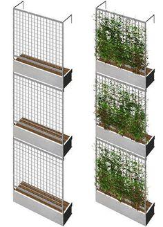 Green Wall Rendering                                                                                                                                                                                 More #fachadasverdesverticalgardens