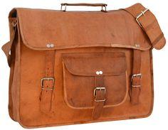 """Wenn weniger mehr ist und ganz und gar von sich überzeugt, dann kann es sich nur um unsere Umhängetasche """"Finlay 17"""""""" handeln. Die Tasche strahlt zeitlose Eleganz im angesagten College-Vintage-Style aus und kann vielseitig eingesetzt werden. Ob als einfache Umhängetasche für die Arbeit oder Uni oder schnell umfunktioniert als Aktentasche für das Büro - Lederumhängetasche - Collegetasche - Gusti Leder - U27"""
