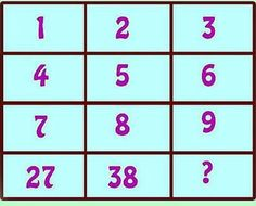 Today you can define mental math in various different ways. Some would say, memorizing times table and remembering the solutions can form the part of mental mathematics. Hard Puzzles, Maths Puzzles, Classroom Posters, Math Classroom, Math For Kids, Puzzles For Kids, Math Olympiad, Math Talk, Math Challenge