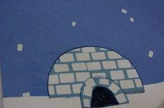 Easy igloo... to go along with Polar Bear Craft