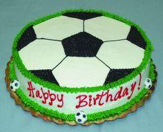 soccer birthday cake - Google Search
