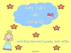 Study, create, and craft while learning about fairy tales and fractured fairy tales with Cinderella!