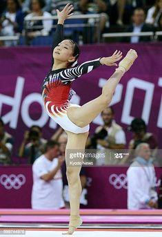 Gymnastics World, Artistic Gymnastics, Gymnastics Leotards, One Piece Swimsuit White, Gymnastics Photography, Gymnastics Pictures, Female Gymnast, Floor Workouts, World Championship