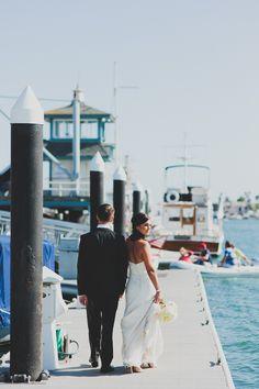 Kristin & Phil's Chic Yacht Club Wedding,  Photography: Chaz Cruz