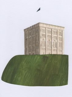 Norwich Castle. Stacey Knights Illustration
