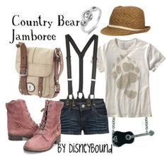 Country Bear Jamboree by Disneybound (my favorite ride)