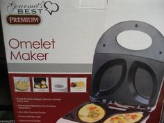 Gourmet's Best PREMIUM Omelette Maker Perfect Eggs and More Every Time BRAND NEW #KitchenGourmet