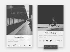Image application design by XINBO #Design Popular #Dribbble #shots