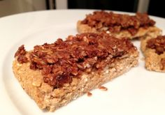 Granola bar - high in protein.