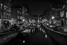 Amsterdam by night by Angel  Flores on 500px