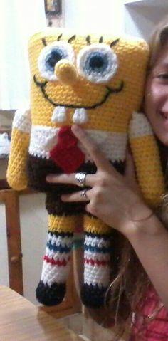 Spongebob crochet amigurumi