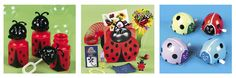 cute little ladybug party favors!