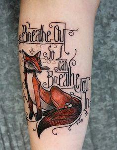 Tattoo idea : Fox and Foo fighters