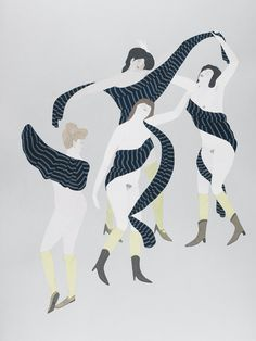 Kushana Bush, The Dance After Matisse, 2012.