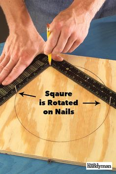 22 Genius Hand Tool Hacks You Need to Know - Rockler: Woodworking Tools, Hardware, DIY Project Supplies & Plans Woodworking Hand Tools, Woodworking Workshop, Woodworking Techniques, Easy Woodworking Projects, Woodworking Furniture, Diy Wood Projects, Woodworking Tools, Woodworking Jigsaw, Wood Tools