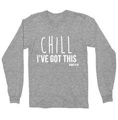 Chill I've God This Long Sleeve Shirt - Christian Shirt F... https://www.amazon.com/dp/B01N3SAQ93/ref=cm_sw_r_pi_dp_x_YCgjyb1RANYNV