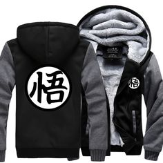 Men's Clothing New Anime Dragon Ball Popular Thicken Sweatshirt Jacket Hoodie Coat Usa Eu Size S-3xl In Pain