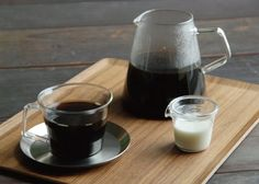 Enjoy your java the classic way with the Kinto Carat Coffee Dripper and Pot.