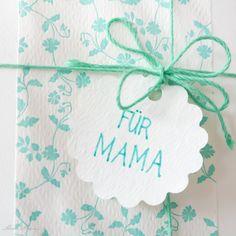 Letterpress – Für die Mama zum Muttertag nur das Beste! http://blog.schoenherum.de