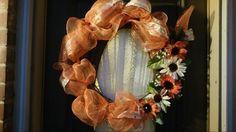 Fall wreath $55