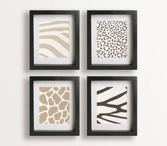 cute for safari bedroom. Bet this would be a really easy DIY with scrapbook paper!