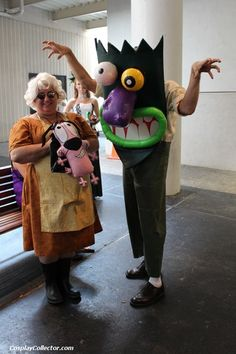 Awesome Cosplay of the Day: Courage the Cowardly Dog  thelostcompanion:  The things I do for love!