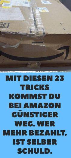 Mit diesen 23 Tricks kommst du bei Amazon günstiger weg. Wer mehr bezahlt, ist selber Schuld.