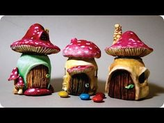 DIY PASSO A PASSO POTE CASINHA FAIRY HOUSE MARATONA POTES #8 - YouTube