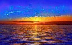 Terra/Natureza Sunset  Opus Nature Horizon Colorful Papel de Parede