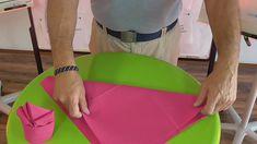 Servietten falten -  ein Beispiel