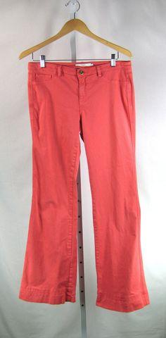 ROBERT RODRIGUEZ Coral Stretch Bootcut Colored Denim Pant Size 8  #RobertRodriguez #Bootcut