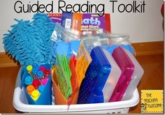 Guided Reading Toolkit. Great ideas to add and make guided reading more fun and engaging for your students!