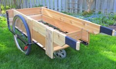 garden cart plans. Woodworking For Mere Mortals: Free Videos And Plans. : Garden Cart, Beer Cart Plans O