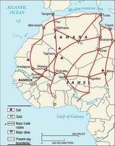 trans saharan trade route | Palgrave Macmillan - History of Africa ...