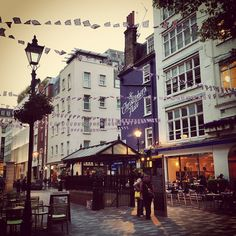 St Christopher's Place!